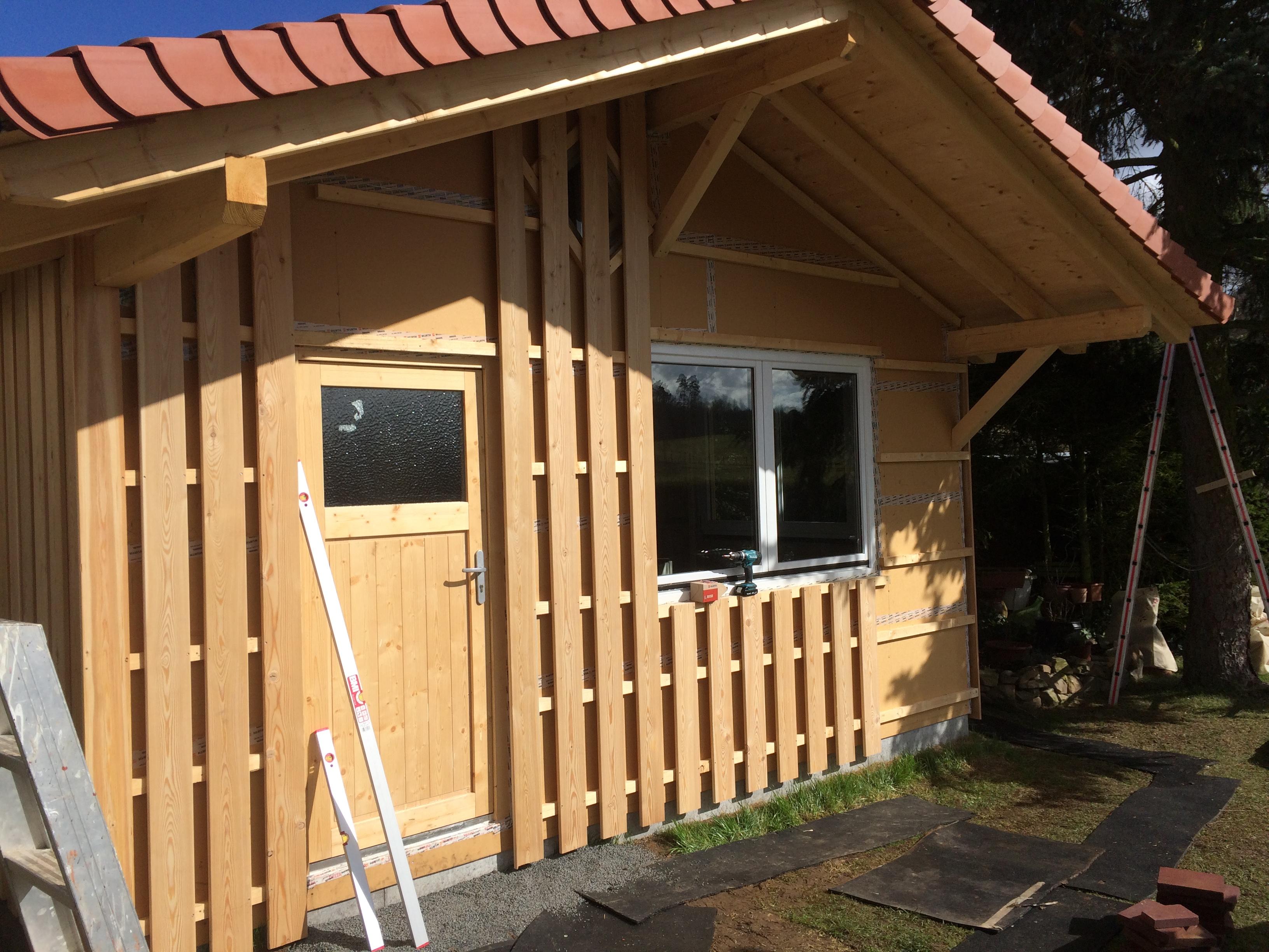 Gartenhütte Holz